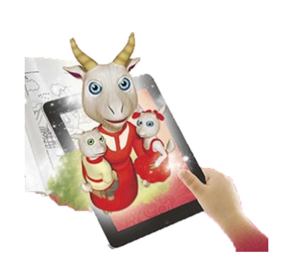 Живая 3D раскраска Kids Devar «Волк и семеро козлят ...